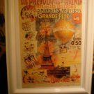 French Event Poster Framed Grande Fete
