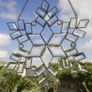 Beautiful Glass Suncatcher Large Snowflake