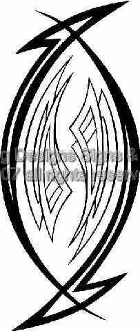 Custom Vector Tribal 24 EPS AI