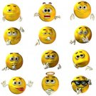 3D Cstom Smiles Series Set 1