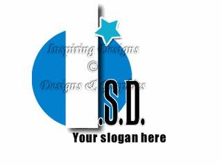 Blue Circle Initial Logo 35