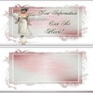 Angel Frame Custom Candy Wrapper Design