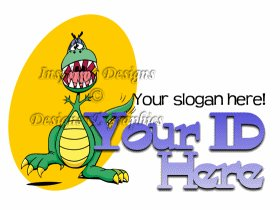 Greater Gator Cartoon Style Logo 11