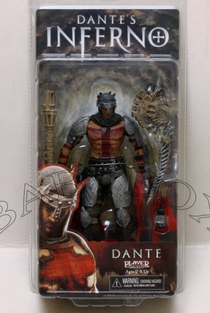 Dante's Inferno Dante PVC auction Figure NECA (Free Shipping)