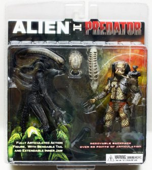 Alien vs Predator AVP EXCLUSIVE Figure 1 pair NECA (Free shipping)
