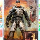 Gears Of War 2 COLONEL VICTOR OFFMAN action figure NECA (Free Shipping)