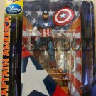 Captain America Action Figure Marvel Select Disney (Free shipping)