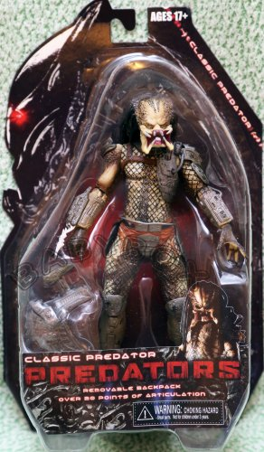 Predators Classic Predator Opened Mouth Version action figure NECA ALIEN
