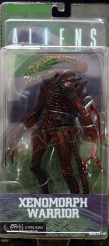 Alien Xenomorph Warrior red action figure NECA
