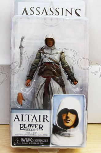 Assassin's ALTAIR Action Figure NECA (Free Shipping)