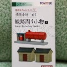Tomytec Diesel Refueling Facility Diorama Collection N GAUGE 1/150 SCALE 107