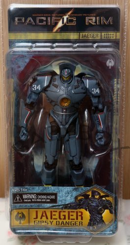 Pacific Rim Jaeger Gipsy Danger PVC action figure NECA