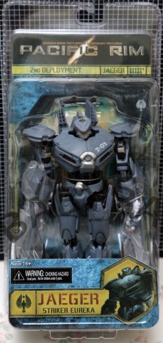 Pacific Rim Jaeger Striker Eureka PVC action figure NECA