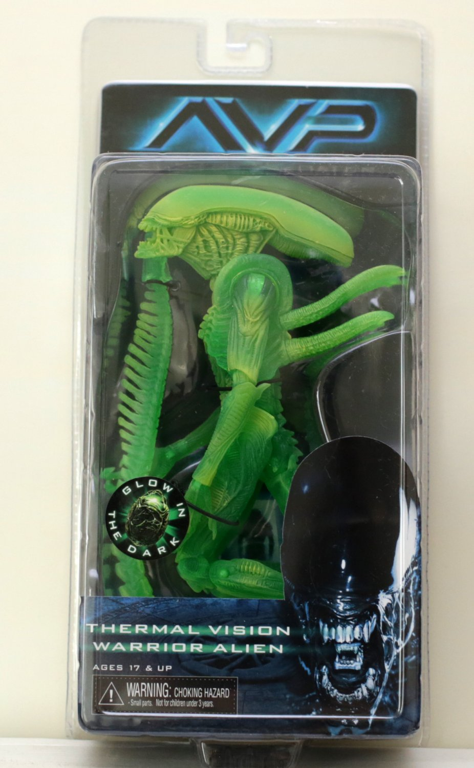 Alien Thermal Vision Warrior action figure NECA (Free Shipping)