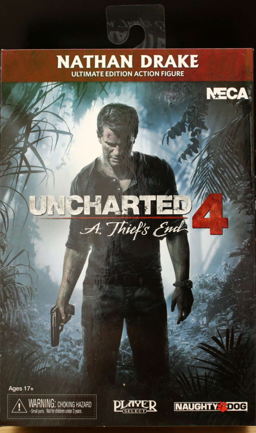 Uncharted 4 Nathan Drake action figure NECA (Free Shipping)