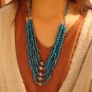 National characteristics of Tibet multiple beads alloy necklace F-175 N046