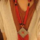 National characteristics of Tibet Korea licensing Su beads necklace F-209 N057