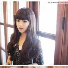Free Shipping high quality Guarantee100% Hot-sales brand new  wig W034 Qi bangs long curly hair