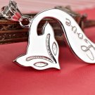 Free Shipping high quality 925Sterling Silver Guarantee100% Fashion Fox Pendant NecklaceN007