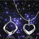 Free Shipping high quality 925Sterling Silver Guarantee100% Storm Fang Necklace  N022