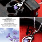 Free Shipping high quality 925Sterling Silver Guarantee100% Invisible Wings Pendant Necklace  N025