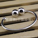 Free Shipping high quality 925Sterling Silver Guarantee100%Opening bell bracelet cute B049