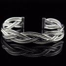 Free Shipping high quality 925Sterling Silver Guarantee100% Fashion - opening new Bracelet B058