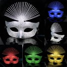 Free Shipping High Quality Guarantee100% A++++++New Halloween Mask Woman Peacock Ogata030