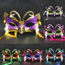 Free Shipping High Quality Guarantee100% A++++++Halloween Supplies Small Butterfly Ms. Mask046