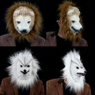 Free Shipping High Quality Guarantee100% A++++++Halloween mask wolf mask monkey tiger lion055