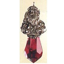 Hallmark 1999 Crystal Claus Precious Edition Miniature Ornament