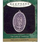 Hallmark 1997 Our Lady Of Guadalupe Precious Edition Miniature Ornament