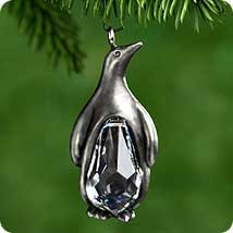 Hallmark 2000 Precious Penguin Precious Edition Miniature Ornament