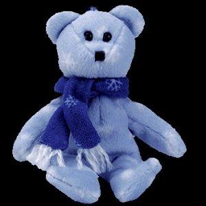 Ty Jingle Beanie Baby 1999 Holiday Teddy the Christmas Bear Retired