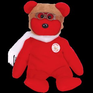 Bearon the Bear Ty Beanie Baby Retired