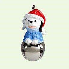 Hallmark 2005 Dog Christmas Bells Series Miniature Ornament