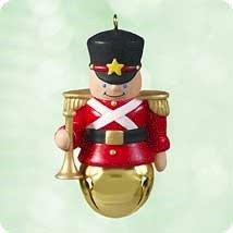 Hallmark 2003 Soldier Christmas Bells Series Miniature Ornament