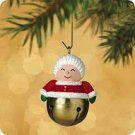 Hallmark 2002 Mrs. Claus Christmas Bells Series Miniature Ornament