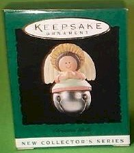 Hallmark 1995 Angel Christmas Bells Series Miniature Ornament