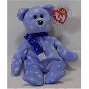 1999 Holiday Teddy Bear Ty Beanie Baby Retired Christmas
