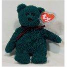 2001 Holiday Teddy Bear Ty Beanie Baby Retired Christmas