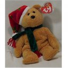 2003 Holiday Teddy Bear Ty Beanie Baby Retired Christmas