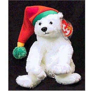 Snowdrift the Polar Bear Ty Beanie Baby Retired Christmas a5f25a1287b