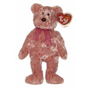 Smitten the Bear Ty Beanie Baby Retired Valentines Day