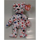 Red, White, and Blue the Bear Ty Beanie Baby Retired USA
