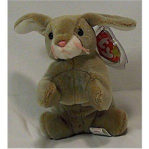 Nibbly the Rabbit Ty Beanie Baby Easter Retired