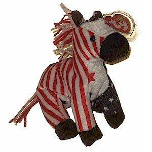 Lefty 2000 the Donkey Ty Beanie Baby Retired Democrat