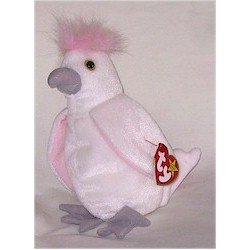 Kuku the Cockatoo Ty Beanie Baby Retired