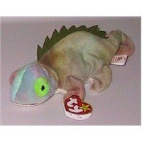 Iggy the Ty-dye Iguana Beanie Baby Retired