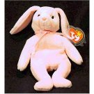 Hoppity the Pink Bunny Ty Beanie Baby Easter Retired